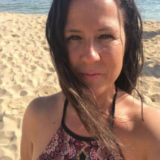 Annne St-Amand - À la plage